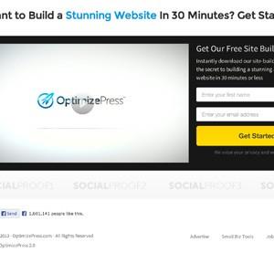 Landingpage Beispiele: Video Landingpage